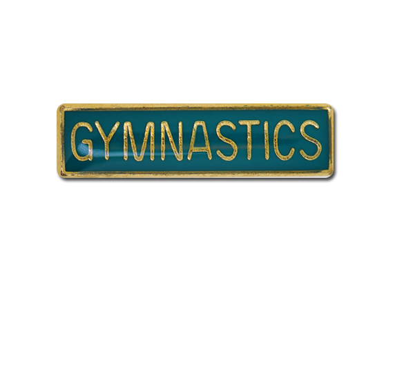 Gymnastics Small Bar Badge