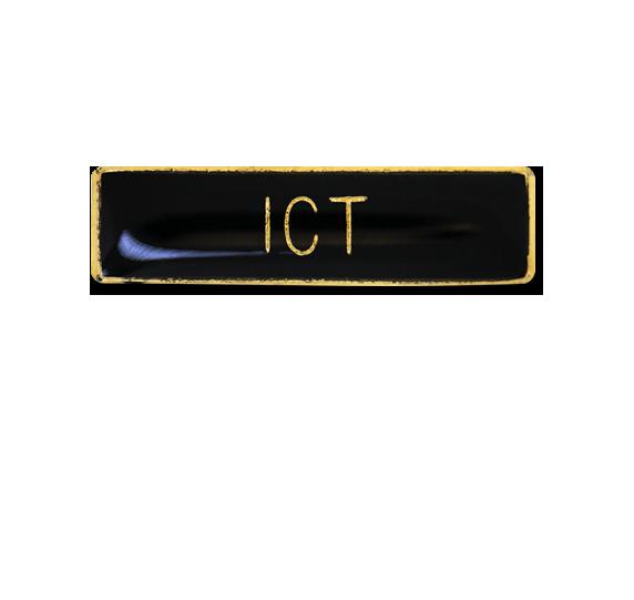 ICT Small Bar Badge