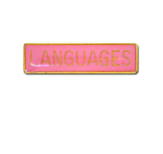 Languages Small Bar Badge