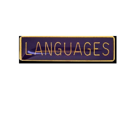 Languages Small Bar Badge