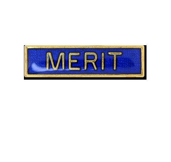 Merit Small Bar Badge