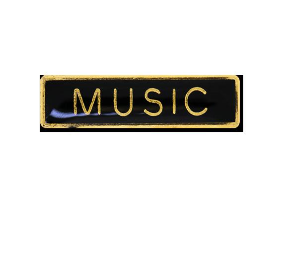 Music Small Bar Badge