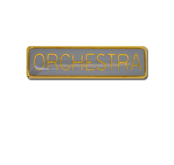 Orchestra Small Bar Badge