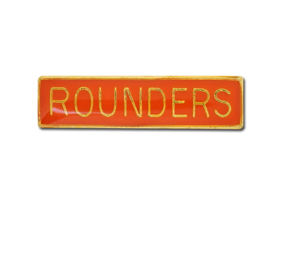 Rounders Small Bar Badge