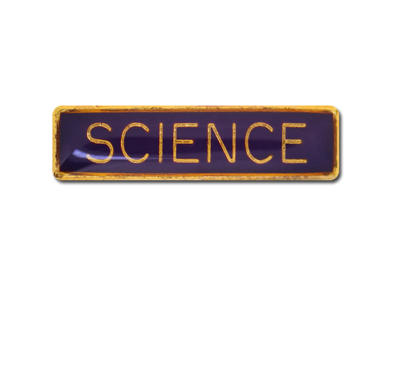 Science Small Bar Badge
