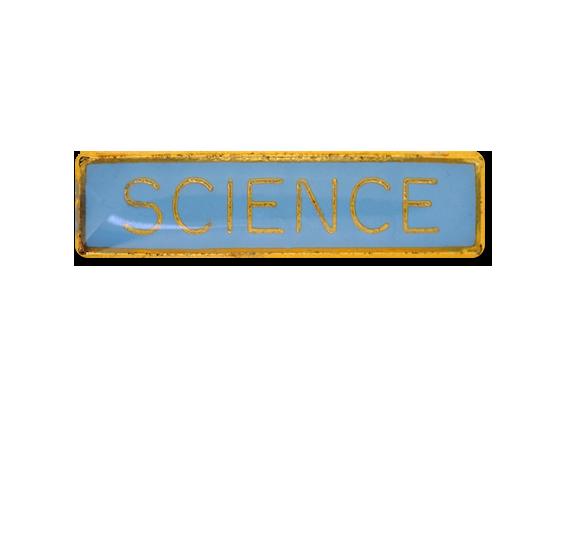 Science Small Bar Badge