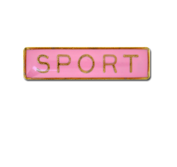 Sport Small Bar Badge