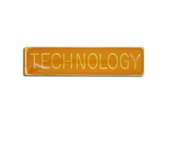 Technology Small Bar Badge