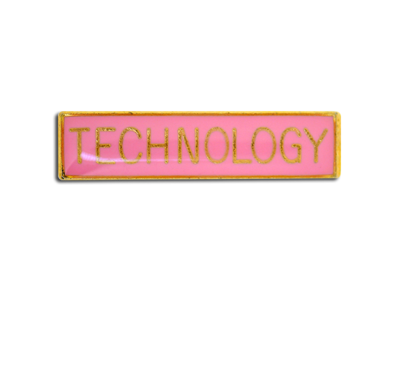 Technology Small Bar Badge