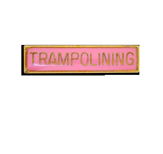 Trampolining Small Bar Badge