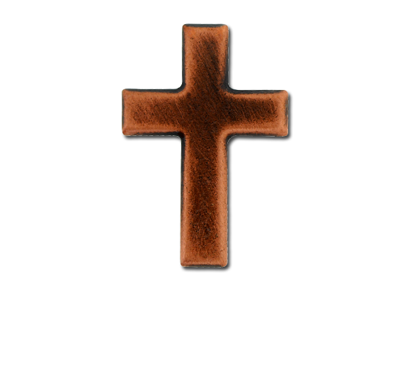 Cross Unique Badge