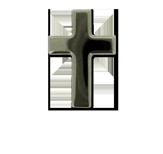 Cross Unique Badge