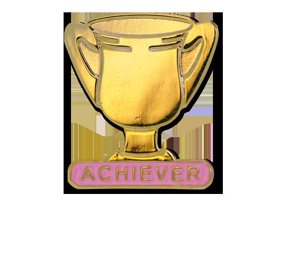 Achiever Trophies - Gold Trophy Badge