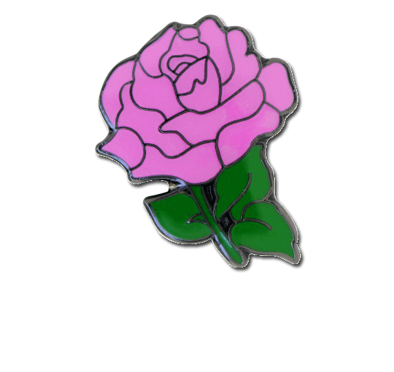 Rose Fun Badge