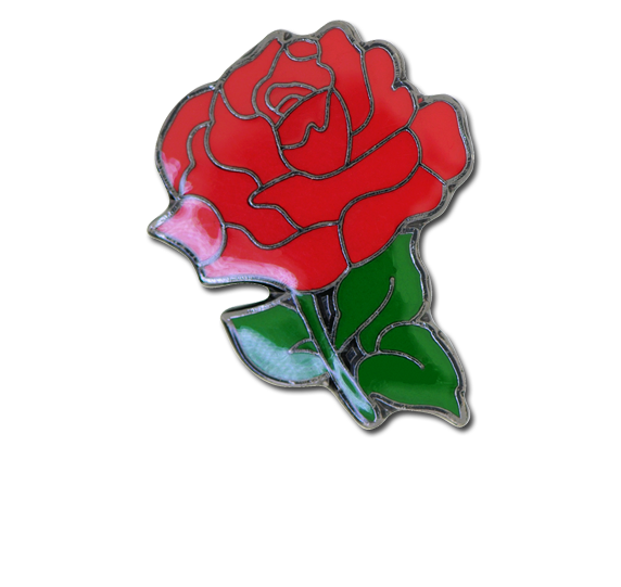 Rose Fun Badge