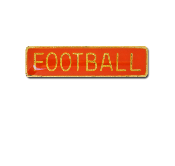 Football Small Bar Badge