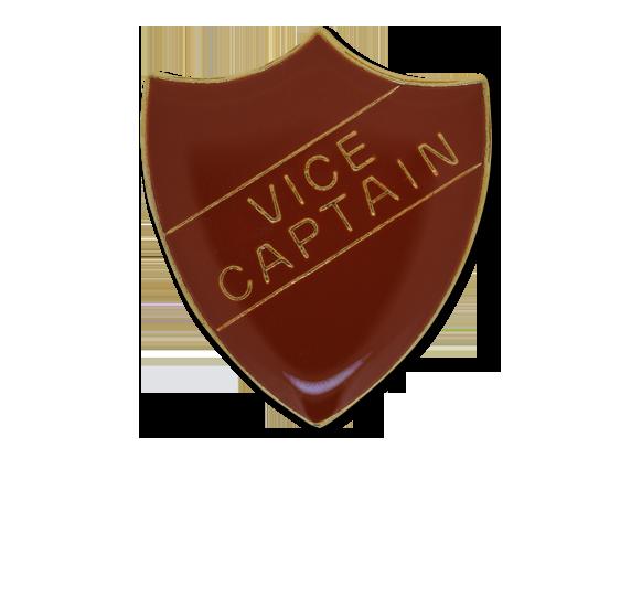 Vice Captain Enamelled Shield Badge