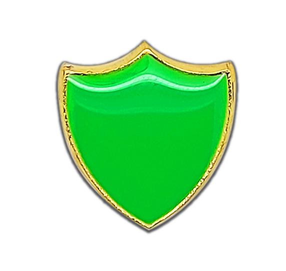 Small Neon Enamelled Shield Badge