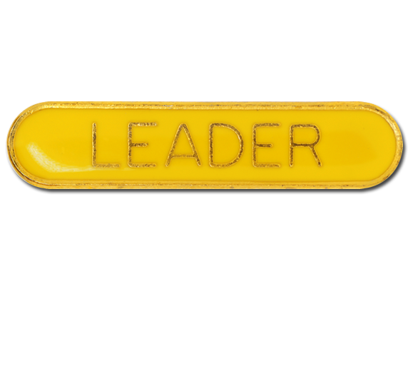 Leader Rounded Edge Bar Badge