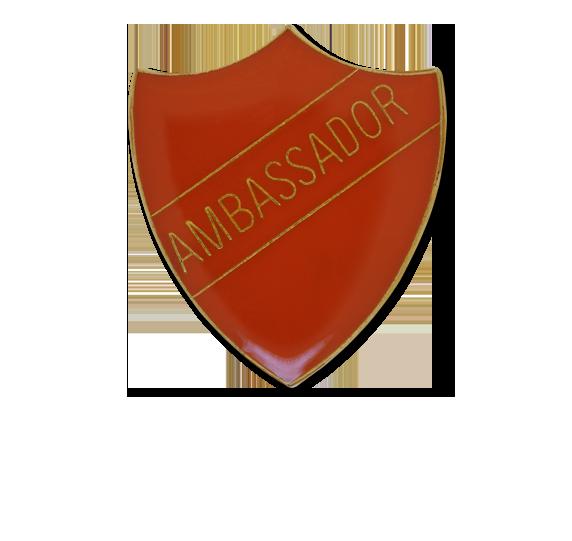Ambassador Enamelled Shield Badge