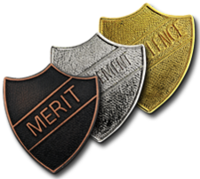 Metal Shield Badges