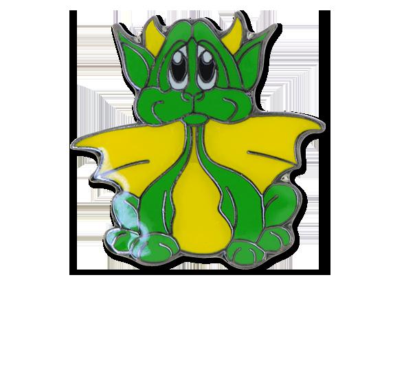 Dragon Fun Badge