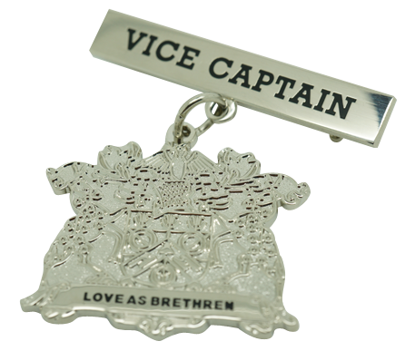Example school captain badge