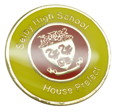Example customised school badges