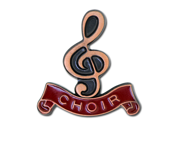 Choir - Bronze Clef Badge